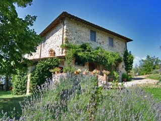 Villa Paradiso. Charming Chianti villa between Florence and Siena