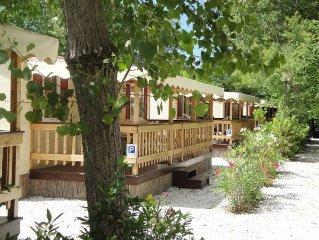Toscane | Stacaravan en Chalet aan zee | Camping met zwembad | Viareggio| Italië