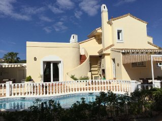 Luxurious Villa. La Manga Club. Peaceful Location With Private Pool. Great Views
