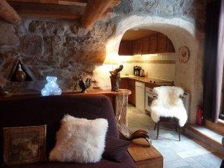 Petit chalet calme nature et authentique proche de Chamonix