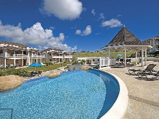 Barbados villa in secure resort development overlooking Platinum Coast