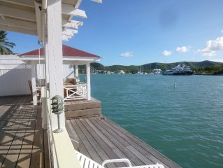 Waterside Property - Great Location with 43' berth - Jolly Harbour