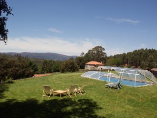 Country house with swimming pool and magnificent