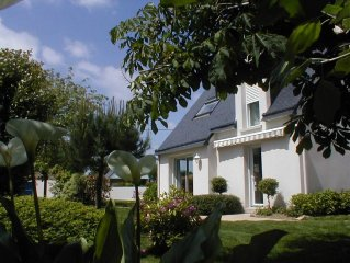 Maison + jardin Bretagne sud - Rhuys - Golfe du Morbihan - 5' à pied de l'océan