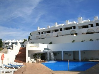 3 Bedroom House, La Cala. Sea Views & Pool, 5 Mins Walk To All Amenities In La C