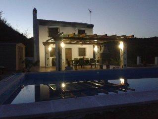 Preciosa casa rural cerca de Málaga y la playa dispone de ofertas especiales