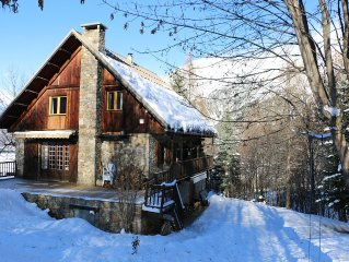 Chalet rated 4 *, quiet and near the ski lifts and slopes