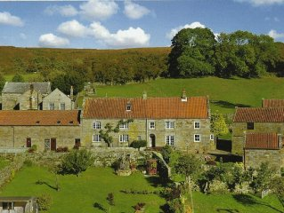 Luxury couple's country retreat in spectacular location in the North York Moors