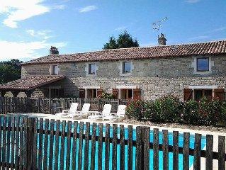 Stone Farmhouse + Totally Private 12m X 6m Swimming Pool
