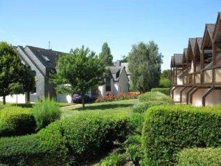 Carnac-Plage appartement 3 pièces avec piscine chauffée dans résidence