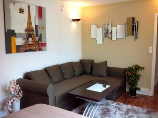 Beautiful holiday flat with a terrace in a peaceful building