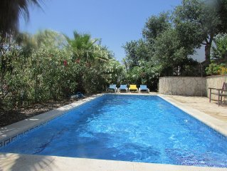 Spacious villa with large private pool and outstanding sea views.