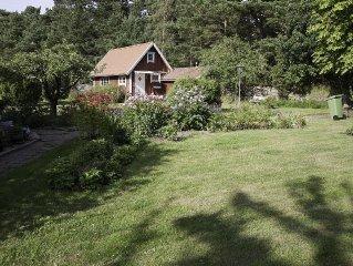 Gasthus alldeles intill naturreservatet Hoga Sand