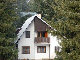 Chalet Bracken in Lieskovec, Tatraska Strba, High Tatras, Slovakia
