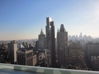 40th Floor Modern Ultra Luxury on 5th Ave with Terrace!