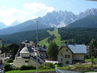 Great view on Dolomites