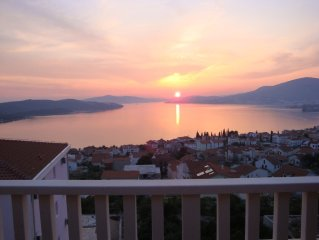 Penthouse  View - 1 bed penthouse apartment with stunning seaviews near Trogir