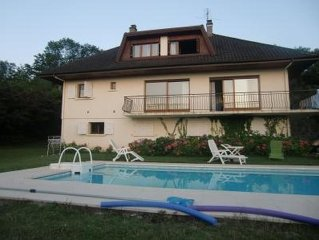 UNIQUE villa, piscine, 20' premières stations de ski, 5' du LEMAN