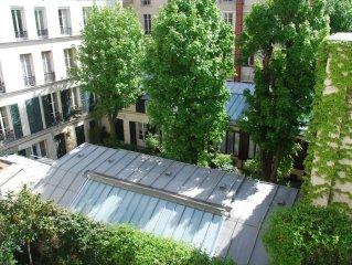 Appartement de charme au soleil et au calme au pied de Montmartre
