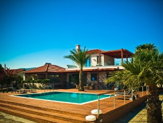 Villa Fenia – Five Star, Private, Spacious Seafront Villa With Private Pool.