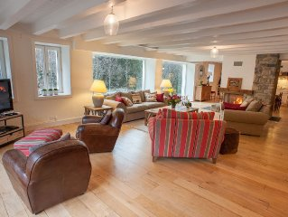 Newly renovated, luxurious, spacious & characteristic chalet in St Jean d'Aulps