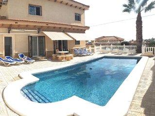 Beautiful, luxury villa. Sleeps 12 in 6 bedrooms.
