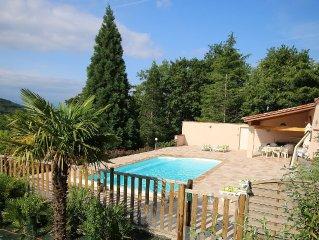 Villa In Pretty Hamlet w/Private Gardens, Mountain Views, Heated Saltwater Pool