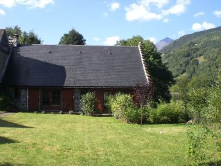 A beautifully- restored barn in the Hautes Pyrenees