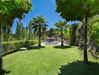 Casa Rural Andaluza, Gran Piscina, Privada, 1 a 10 personas, 5 dormitorios, WIFI