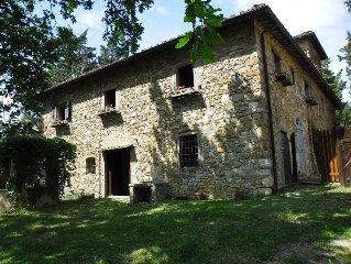 Antica e confortevole casa in pietra nel cuore del Chianti Classico