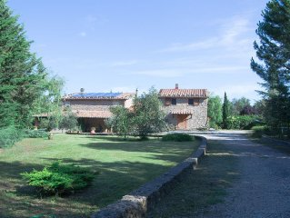 Tuscan old stone farmhouse set in spectacular countryside