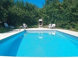 Farmhouse With Private Pool In Stunning Rural Location, Internet & Email Access