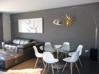 Modern appartement met zwembad en zeezicht in het prestigieuse Tas Sellum