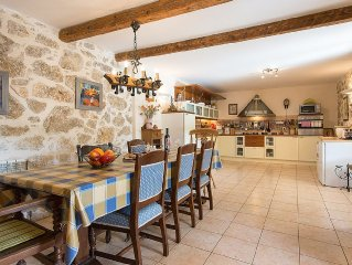 Large private house and garden in a quiet village. Unspoilt countryside,