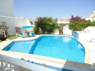 Large villa with private swimming pool and garden