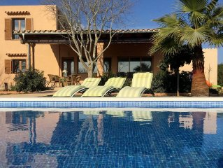 Villa near Es Trenc beach - Natural Park (Best Mallorca beach) WIFI