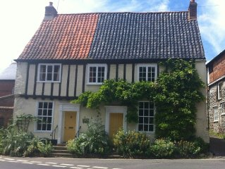 Luxury 4 Bedroom Cottage With Lovely Walled Garden