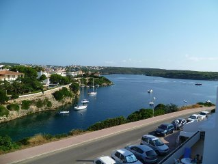 Sea-Views, Sol Del Este, Es Castell.  Overlooks Cala Padera, Walk to Cales Fonts