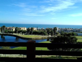 GOLF & BEACH: BEAUTIFUL NEW APARTMENT WITH TERRACE WITH BEAUTIFUL VIEWS