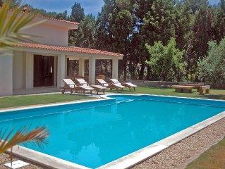 Luxury Villa sleeps 6-8 with Pool and Sea Views close to beach and marina