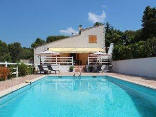 Mougins,Villa.  Cote D'Azur France.  Peaceful setting with beautiful views