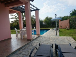 Rural Villa Set In The Mountains, Private Pool And Stunning Sea Views