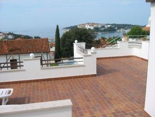 Suncaliste - 2 bedroom apartment, large terrace, Free WiFi, Air Con, Sea Views -