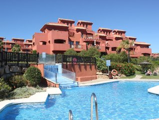 Luxury 3 bed, 3 bath duplex apartment on exclusive country club with spa complex