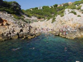 Domaine prive de Port d Alon rez de villa dans jardin 5 mn de la mer piscine ten