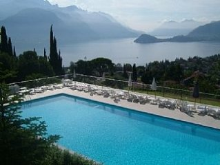 Apartment with Spectacular Lake and Mountain Views, Fabulous Pool and Tennis