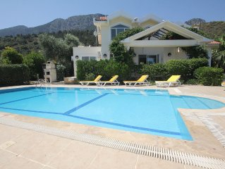 Superb 4 Bed Villa in the Village of Lapta superb views & private pool