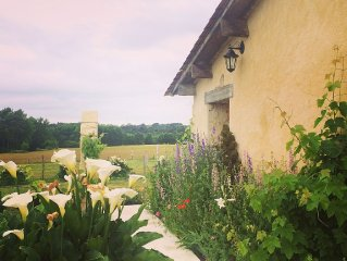 Escape to the French countryside, an hour to Bordeaux, 20 minutes to St Emilion