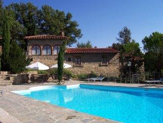 Villa privata con giardino, piscina e jacuzzi