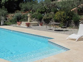 Independent Apartment With Heated Pool, Air-con And Views Over Olive Groves